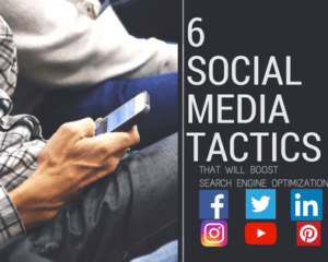 Improve your website's SEO by incorporating these social media tactics.