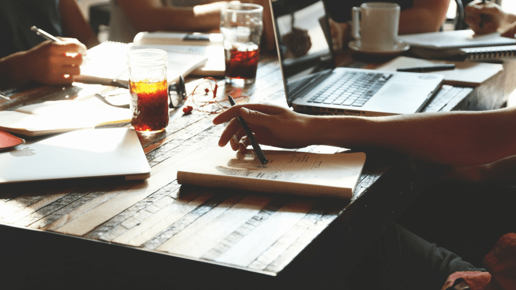 copywriting via free stock