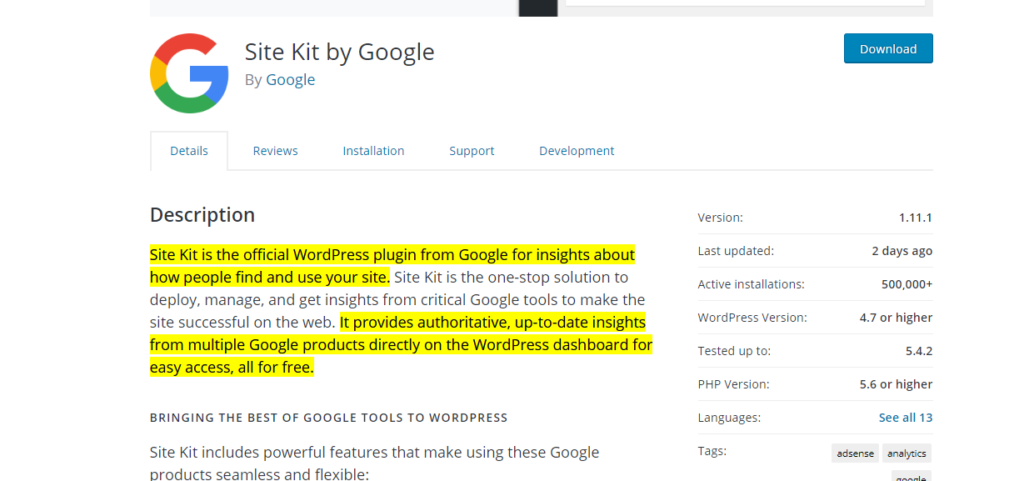 Site-kit-by-google