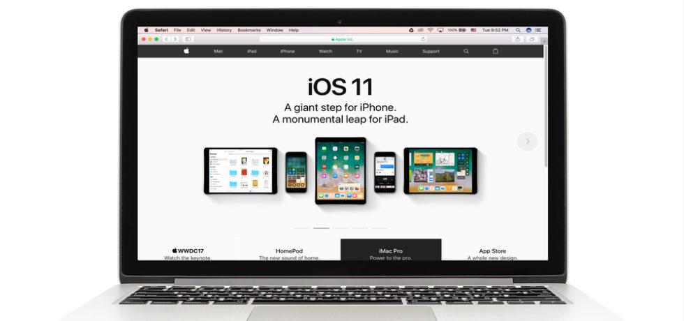 upgrade to ios 11